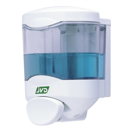 Dispensador de Jabón JVD CRYSTAL 450 ml c/boton