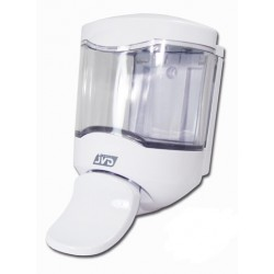 Dispensador de Jabón JVD CRYSTAL 450 ml c/Paleta