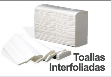Toalla Papel Interfoliada Blanca